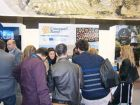 Visitors at Andalucia stand