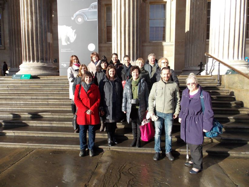 T-GuIDE Team Members at British Museum