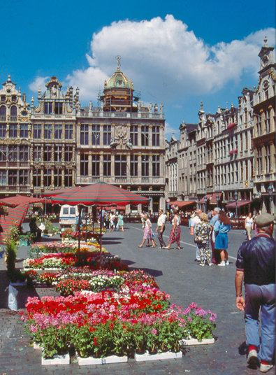 Brussels Grand Place photo
