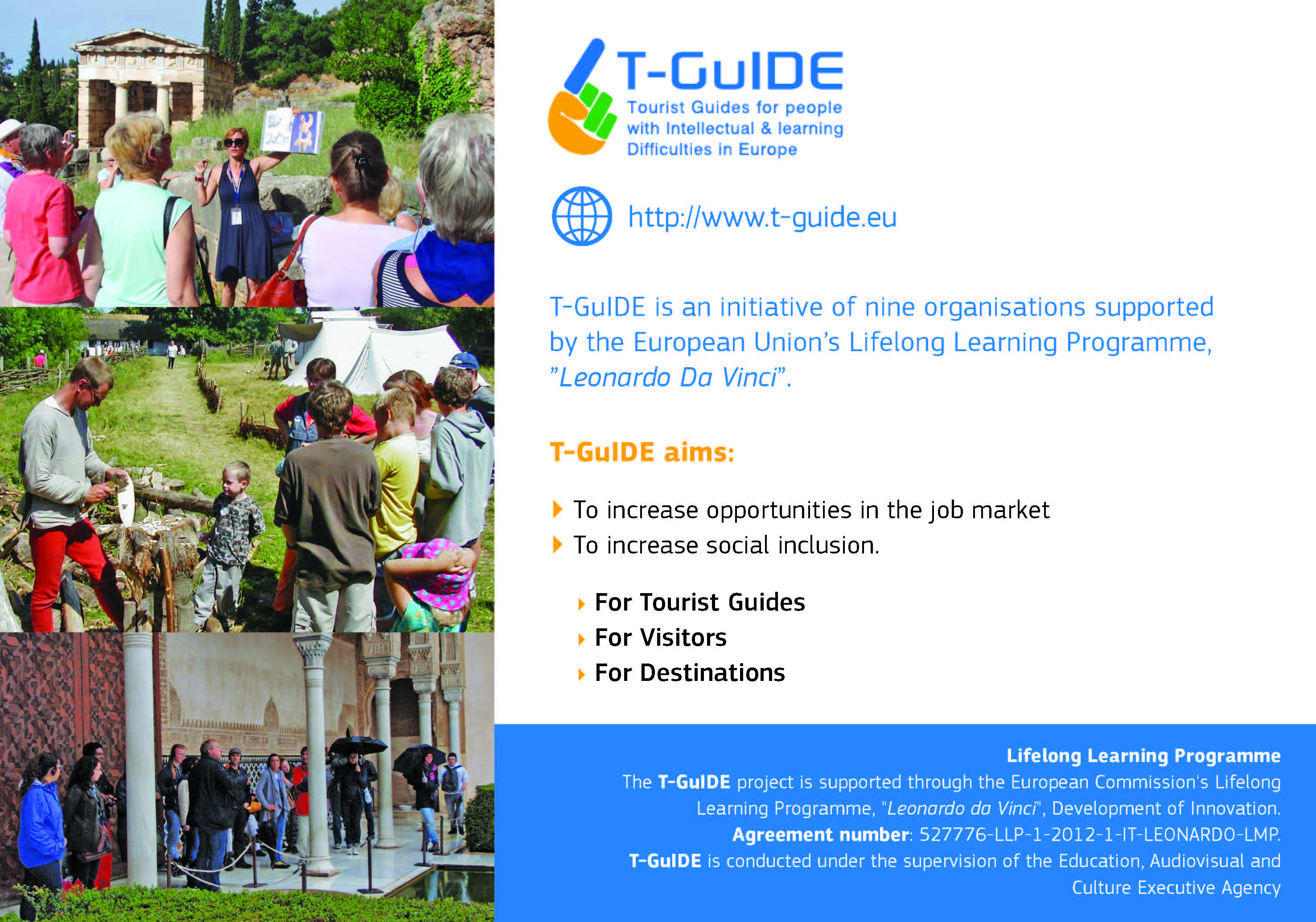 T-GuIDE postcard page 2