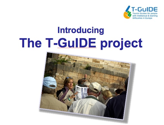 Image of T-Guide presentation slide