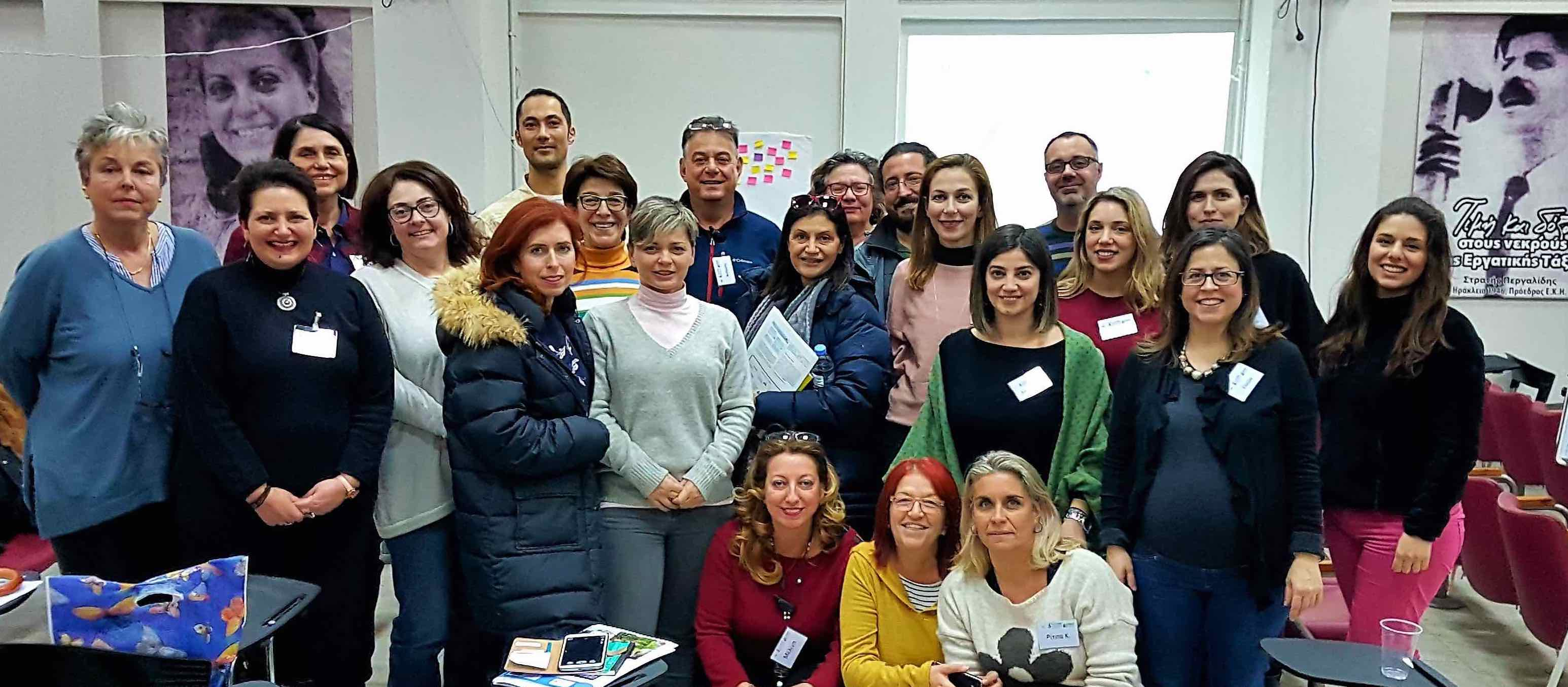 image of T-Guide training group, Crete